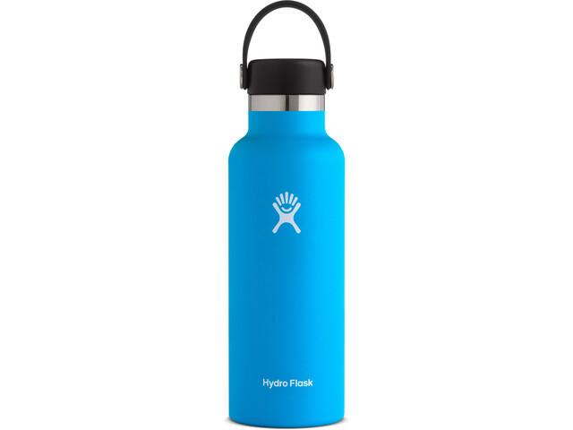 Hydro Flask Standard Mouth Gourde avec Bouchon Flex standard 532ml, pacific